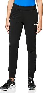 Puma 851826 Pantalons Femme Cotton Black/Cat FR : S (Taille Fabricant : S)