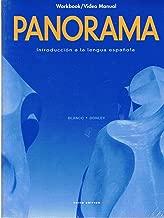 Panorama: Introduccion a La Lengua Espanola Workbook/VideoManual, 3rd Ed. / Introduccion a La Lengua Espanola Workbook, Video Manual, Lab Manual Answer Key, 3rd Ed. / Introduccion a La Lengua Espanola Lab Manual 3rd Ed. by Blanco / Donley(3 Books)