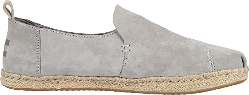 Drizzle Grey Pig Suede