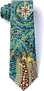 Men's 100% Silk Christmas Wisemen Wise Men & Nativity Star Necktie Tie Neckwear