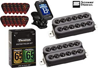 Seymour Duncan Invader High Output Humbucker Pickup Set with True Tune Tuner, Care Kit and Picks 11108-31-B