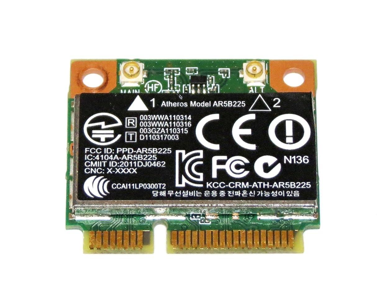 ニッケルペネロペ読み書きのできないHP純正+汎用 Atheros AR5B225 802.11n WIFI + Bluetooth 4.0 Combo 無線LANカード 655795-001