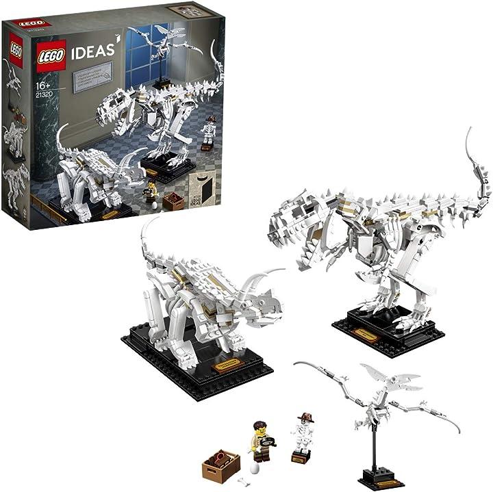 Dinosauri, gioco di costruzione lego ideas 21320