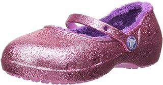 حذاء Karinsprklnclgk للبنات من Crocs وردي، مقاس 7 M الولايات المتحدة للأطفال الصغار