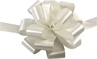 White Christmas Gift Pull Bows - 5