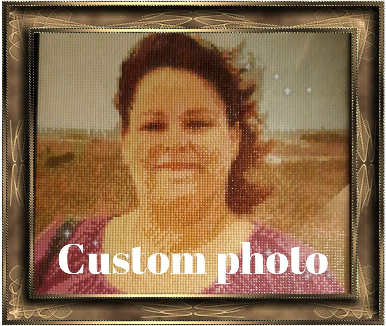DIY Custom Direct sale of manufacturer Photo 5D Diamond Painting security for and kit Adults Accessor