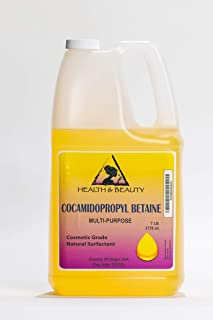 Cocamidopropyl Betaine Coco Betaine CAPB Natural Surfactant Liquid Premium Highest Purity 100% Pure 128 oz, 7 LB, 1 gal