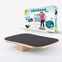 Plankpad by Erzi Kids – Fitness Trainer & Balance Board per bambini con app per smartphone – Così i bambini fanno diverti!