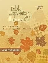 Union Gospel Press Bible Expositor Large Print Fall (Sept-Nov) 2019 Paperback Book