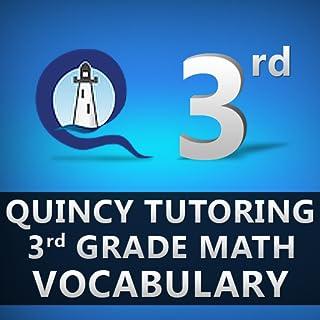 Quincy Tutoring Third Grade Math Vocabulary Flashcards