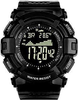 JessFash Deporte Reloj Inteligente Monitor de sueño Actividad Rastreador de Ejercicios Calorías Reloj Contador de Pasos Pantalla táctil a Color Podómetro Impermeable Reloj Inteligente con Cardio