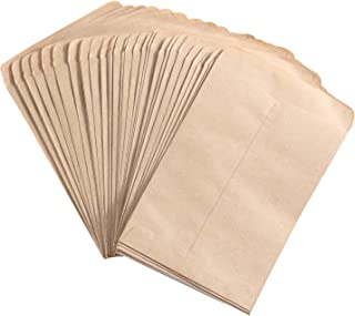 Senkary 100 Pieces Seed Packets Blank Seed Envelopes Empty Seed Paper Bags Bulk for Flowers, Wildflower, Party Favors, Wedding, Vegetables, Sunflower (4.7 by 3.5 Inches)