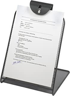 Safco Products 2158BL Onyx Mesh Copyholder, Black