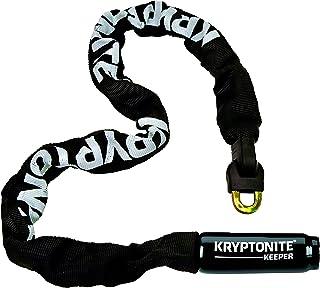 Kryptonite Keeper 785 Integrated Bicycle Lock Chain Bike Lock (Black)