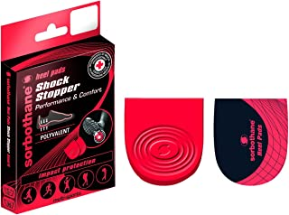 Sorbothane Shock Stopper Heel Pads- Medium (6-8)