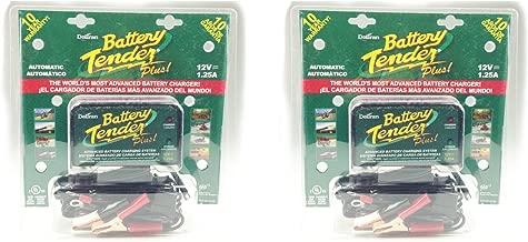 Deltran Battery Tender Plus 1 Bank 12 Volt 2-Pack 021-0128(x2)