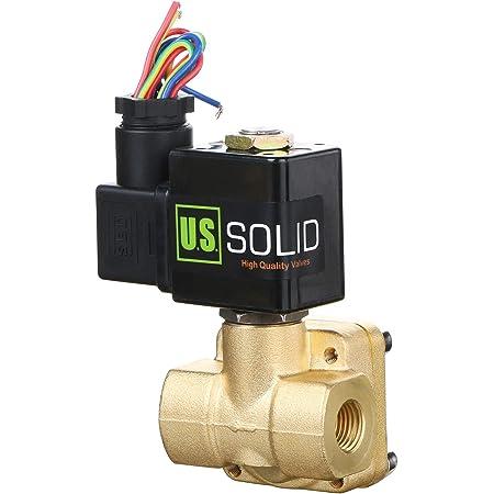 """Brass Outdoor Waterproof Solenoid Valve Air Water Oil Normally Open 1//2/"""" 3//4/"""" 1/"""""""