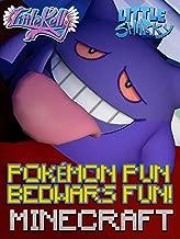 Clip: Little Kelly & Little Sharky - Pokémon Pun Bedwars Minecraft Fun!