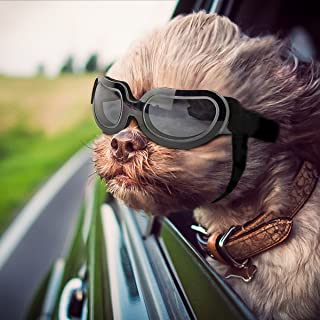 Namsan Stylish and Fun Pet/Dog Puppy UV Goggles Sunglasses Waterproof Protection Sun Glasses for Dog