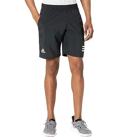 adidas Club 3-Stripes Shorts (Black/White) Men