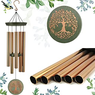ASTARIN Wind Chimes Outdoor Deep Tone,36 Inch Large Memorial Windchimes for Loss of Loved One Engrave Tree of Life,Sympath...