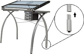 Studio Designs Futura Leg Extension in Silver 10051
