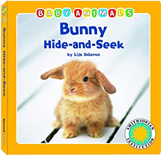 Bunny Hide-and-Seek - a Smithsonian Baby Animals Book (with easy-to-download e-book and printable activities)