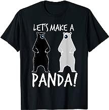 Let's Make A Panda Shirt   Cool In Love Bears T-shirt Gift