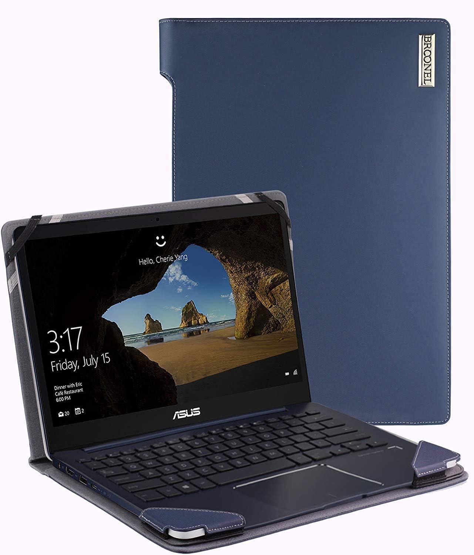 Broonel safety - Profile Series Blue Compatible Laptop Regular dealer Leather Case