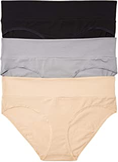 Women's 3 Pack Fold Over Brief Panties
