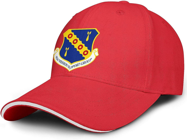 Outstanding Unisex 42d-Mission-Support-Gp-Emblem- Popular popular Hat Cap Adjustable