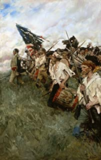 Pyle Nation Makers 1906 NThe Nation Makers Depicts The Battle Of Brandywine Of 1777 During The Revolutionary War Oil On Canvas By Howard Pyle 1906 Poster Print by (18 x 24)