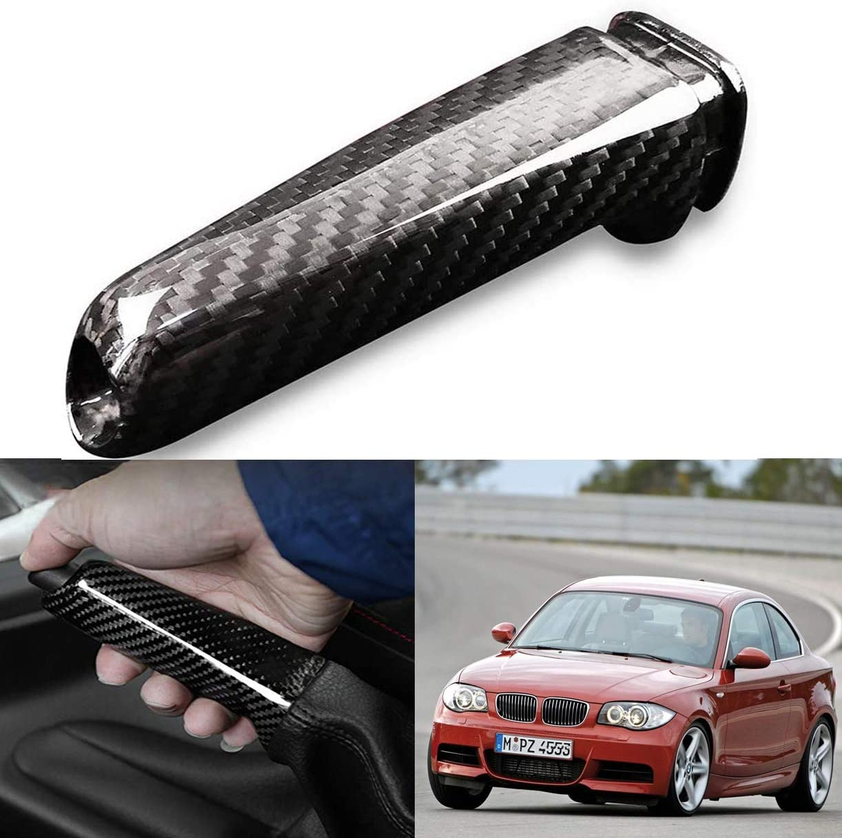 Oritech Car Handbrake Cover Carbon Grip Fiber Brake Choice Max 40% OFF Hand Parking