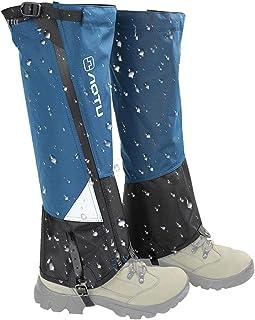 tidystore Cubrezapatos de ciclismo, cubrezapatos de invierno – Polainas térmicas de invierno impermeables para botas de ni...