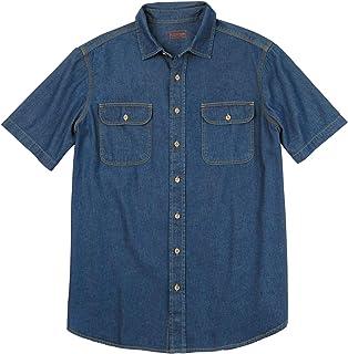 Boulder Creek by Kingsize Men`s Big & Tall Short-Sleeve Shirt