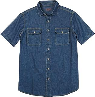 Boulder Creek Men's Big & Tall Short-Sleeve Shirt