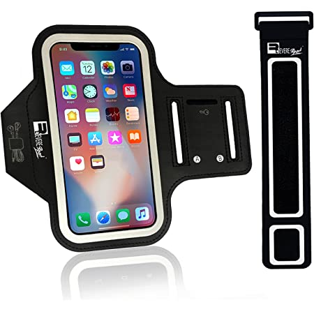 Up to 6.3,Bags for Sports Men/& Women Red Phone Holder for Running,Running Phone Armband with Running Headphone Slot The New Running Armband for IPhone 11 Pro Xr XS X 8 7 Plus Samsung S9 S8