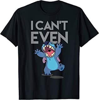Disney Cant Even Lilo and Stitch T-shirt