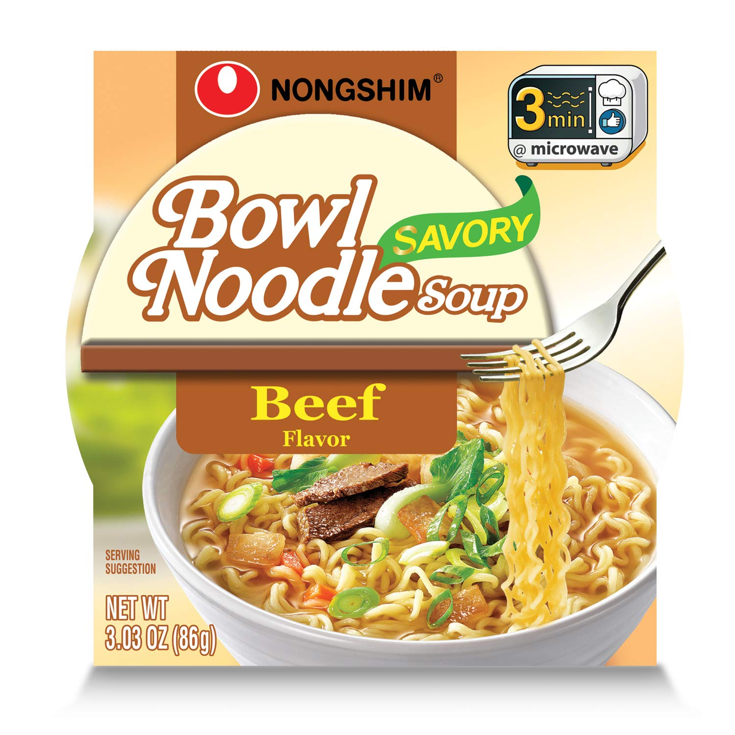 Nongshim Savory Beef Noodle Soup Max 50% OFF 3.03 Max 59% OFF of Ounce 6 Pack