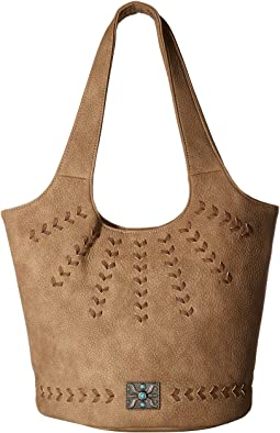 American West Sagebrush Soft Bucket Tote