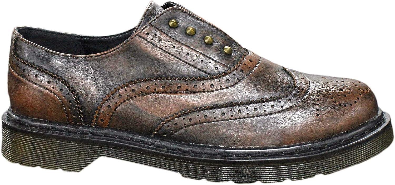 Evoga Men's Loafer Flats Brown brown 7