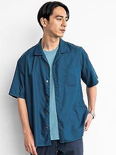 [グリーンレーベルリラクシング] SC★★ エステルポプリン オープンカラー 半袖 シャツ <機能性生地/接触冷感> 32161491358 メンズ