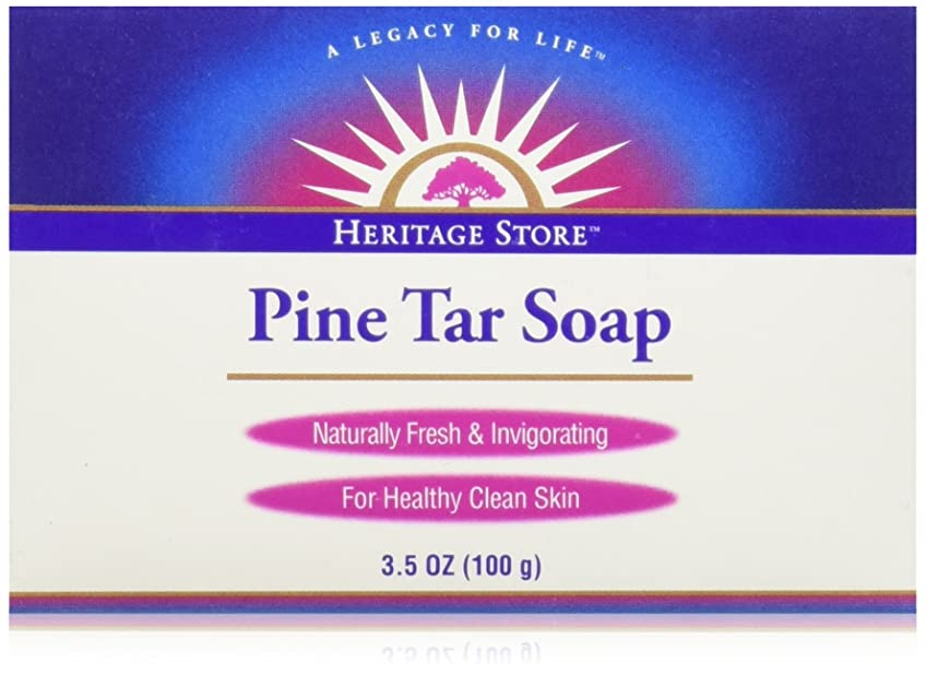 間違いセットアップブッシュ海外直送品Pine Soap Bar, 3.5 Oz by Heritage Products