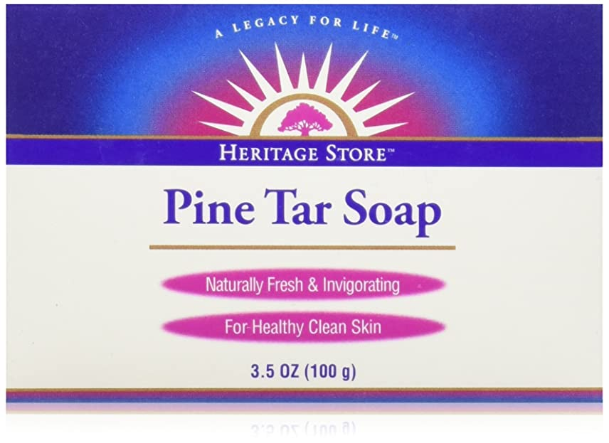つらい満員間欠海外直送品Pine Soap Bar, 3.5 Oz by Heritage Products