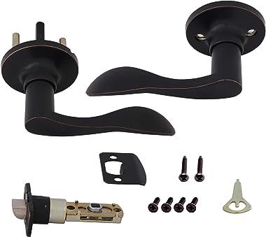 Honeywell Safes & Door Locks 8106403 Honeywell Door Lever, Oil Rubbed Bronze