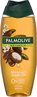 Palmolive Naturals Moroccan Argan Oil Body Wash 0% Parabens Recyclable, 500mL