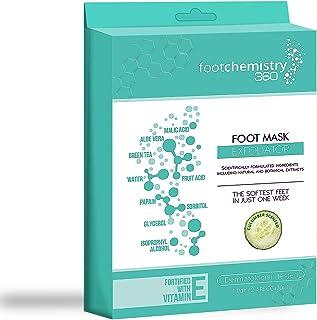 Foot Chemistry Foot Peel Mask   Soft Baby Feet in 1 Week   Natural & Moisturizing Dry Foot Peeling Exfoliant & Dead Skin R...