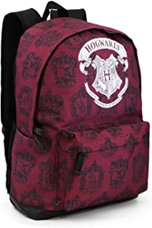 Karactermania Harry Potter Hogwarts Mochila Tipo Casual, 43 cm, 27 litros, Rojo