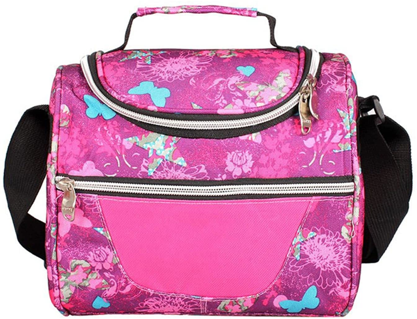 Fresno Mall Kids Lunch Bag Long Beach Mall Thermal Insulated Picnic School Wo for Box Cooler