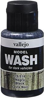Vallejo Model Color 35 ml Wash Paints - Black